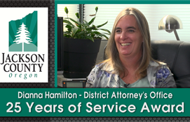 Dianne Hamilton - 25 Years of Service Award