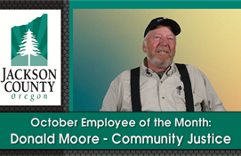 October Employee of the Month – Donald Moore