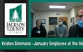 Kristen Simmons - January Employee of the Month