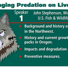Managing Predation on Livestock - John Stephenson, Wolf Biologist
