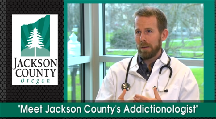 """Meet Jackson County's Addictionologist"" featuring Dr. John Mahan"