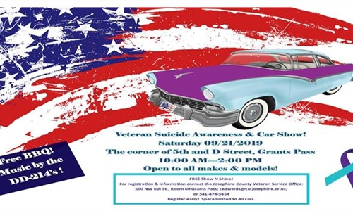 Veteran Suicide Awareness & Car Show!