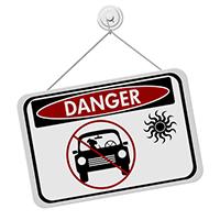 Danger Hot Car