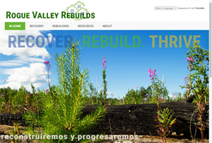 Fire Information Website Launched to Help Rogue Valley Residents Rebuild
