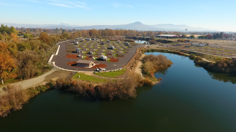 imgSouthern Oregon RV Park Ariel View