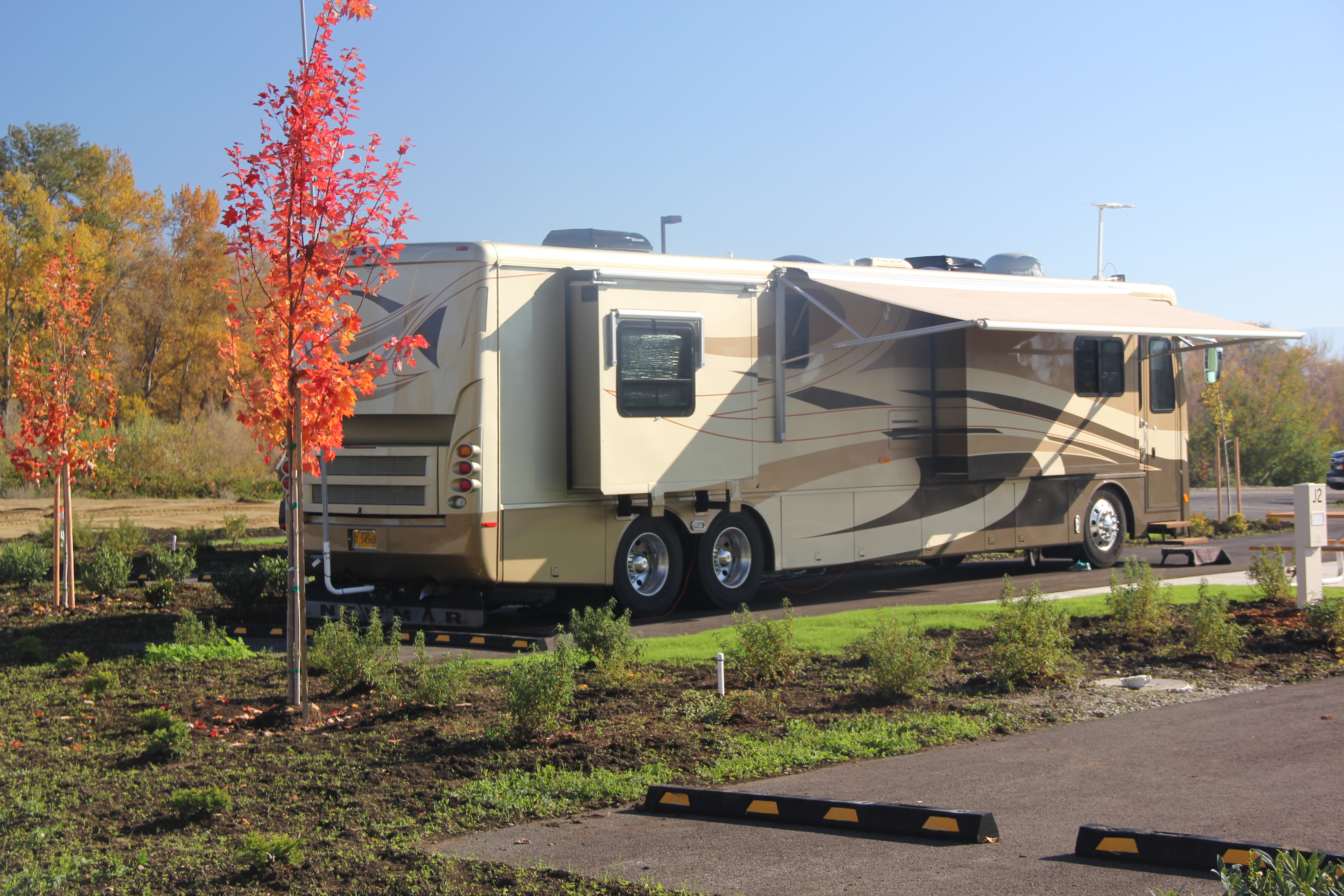Accommodates Large RV's