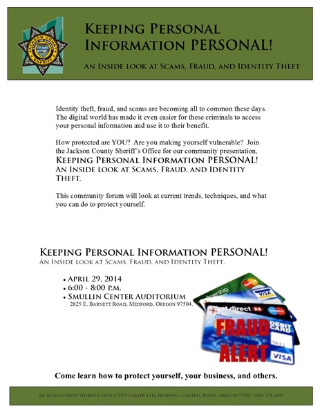 Are You Protected Against Identity Theft, Fraud, or Scams??
