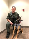 JCSO K9 Receives New Body Armor (Photo)