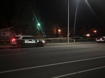 Deputies Investigate Shooting in White City (Photo)