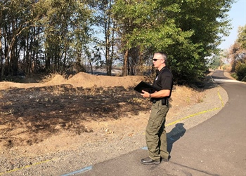 Detectives Seek Tips on Peninger Fire (Photo)