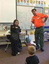 SAR Teaches Kids to Stay Safe if Lost (Photo)