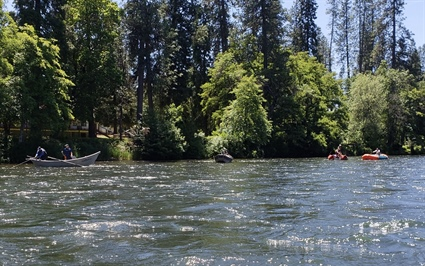 OSMB Drift Boat Training on the Rogue River (Photo)