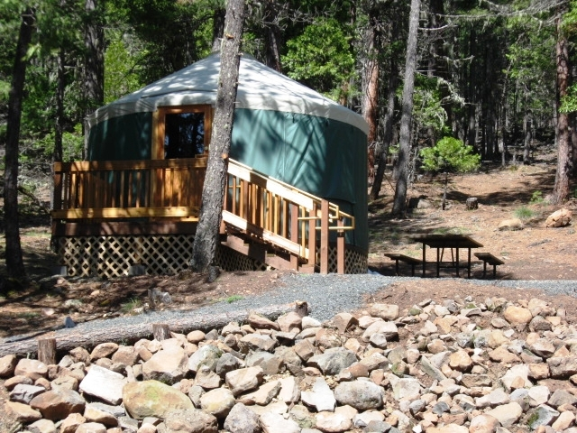 Willow Lake Cabins Amp Yurts Jackson County Parks Photo