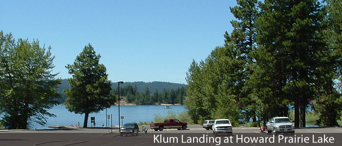 Klum Landing ar Howard Prairie Lake