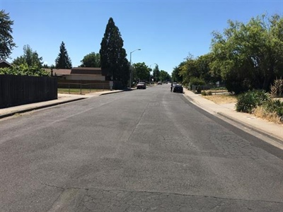 Roadway Asphalt Overlay Work in White City