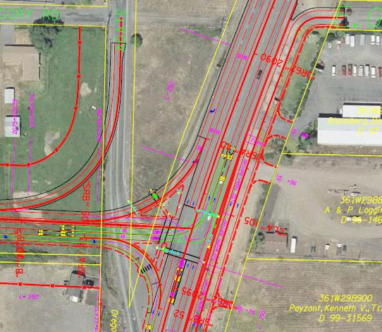 Hwy 62 Expressway Project Various County Road Impacts