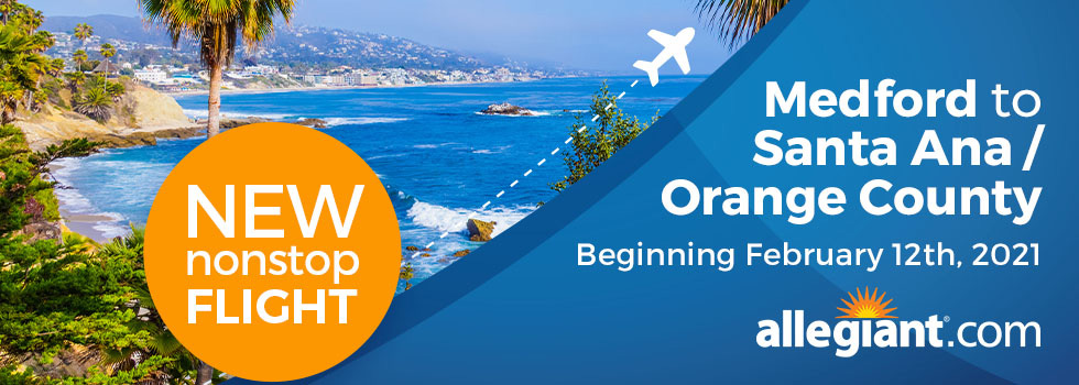 NEW Nonstop Flight to Orange County