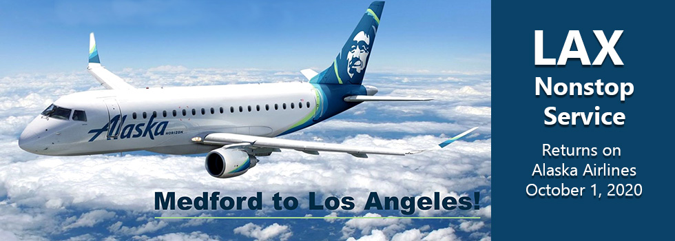LAX Nonstop Service on Alaska Airlines