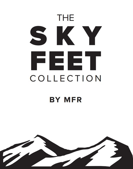 Sky Feet Collection by MFR, benefiting the community and having fun doing it!