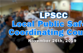 Local Public Safety Coordinating Council - November 2019