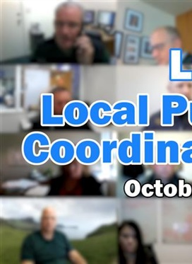 LPSCC Meeting Oct 27 – Response to COVID-19
