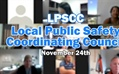 November Local Public Safety Coordinating Council Meeting (LPSCC)