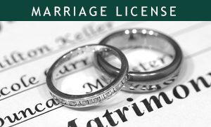 Marriage License Application