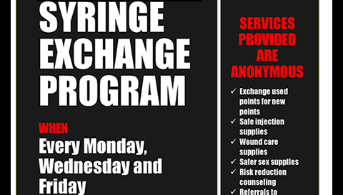 Syringe Exchange Program and HIV Education and Prevention