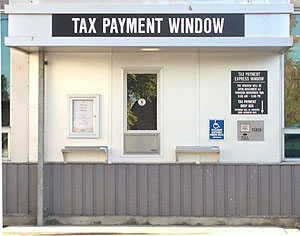 Tax Payment Walkup Window