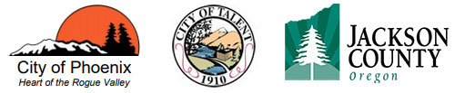 Sponsored by the City of Phoenix, City of Talent and Jackson County, Oregon