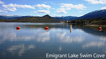 Emigrant Lake Swim Cove