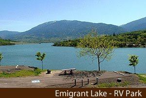 Emigrant Lake RV ADA Site